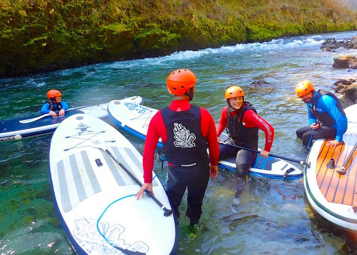 Actividades en grupo Cantabria, paddle surf, descenso rio, Asturias, stand up paddle, sup, starboard