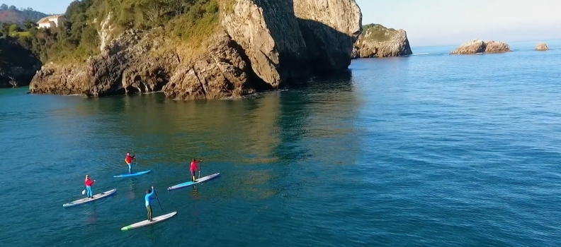 Video Stand Up Paddle en Cantabria