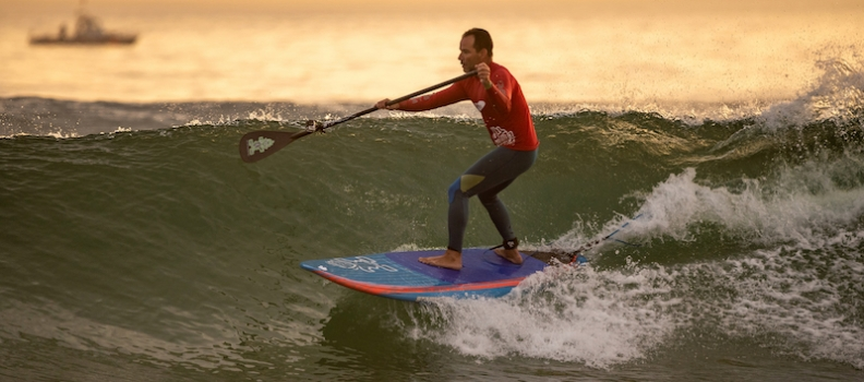Paddle Surf en Cantabria: test Starboard Converse Carbono