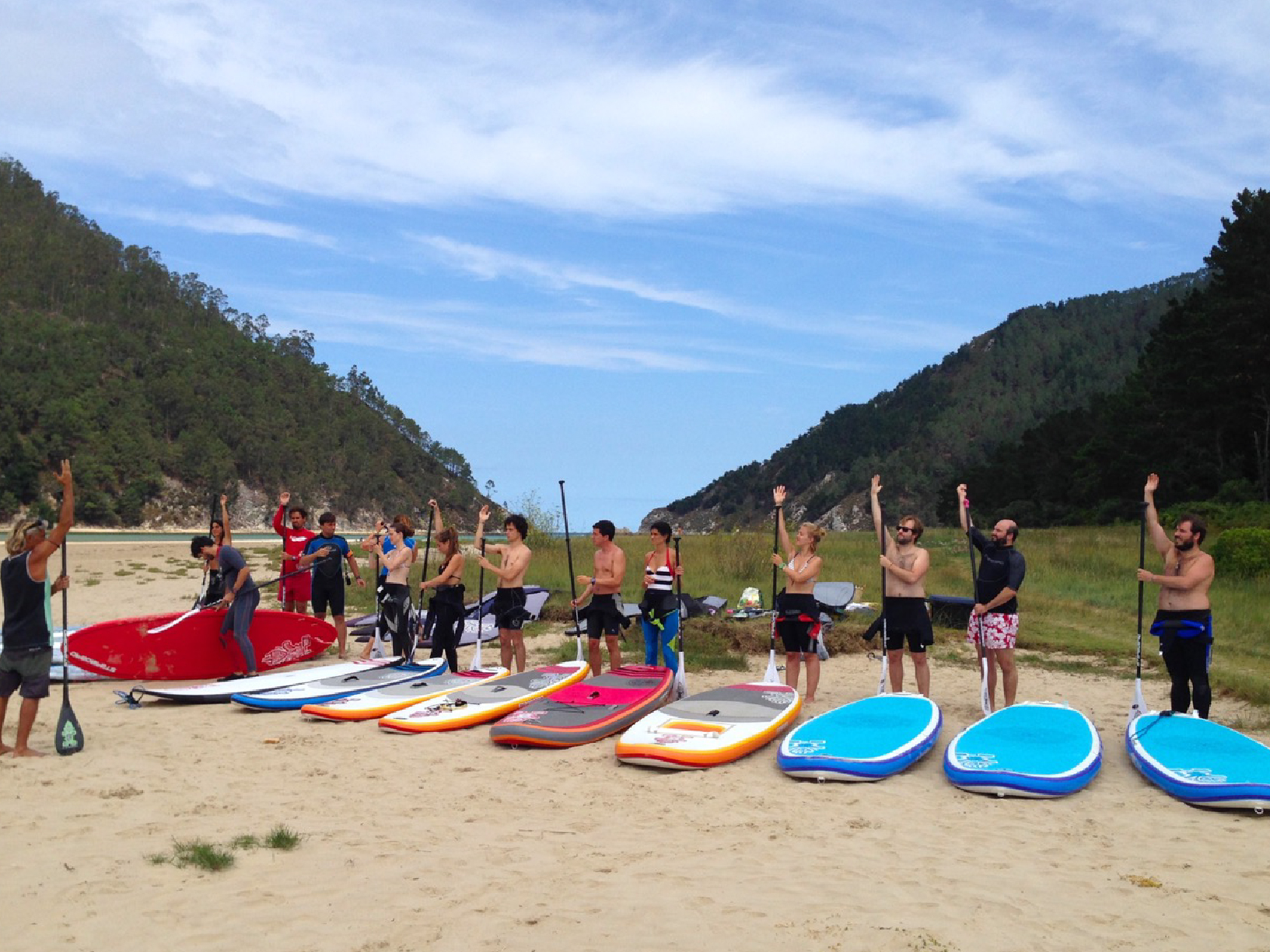 sup, sup river, sup dreamers, stand up paddle, starboard, sps, travesías, clases, escuela paddle surf cantabria, asturias, familias, grupos, cumpleaños, despedida de soltero, team building, Asturias, paddle surf
