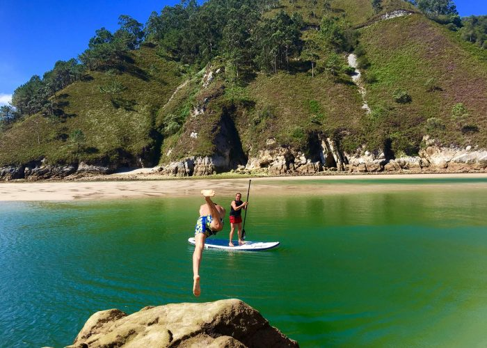 SUP, paddle surf, Cantabria, grupos, travesías, clases